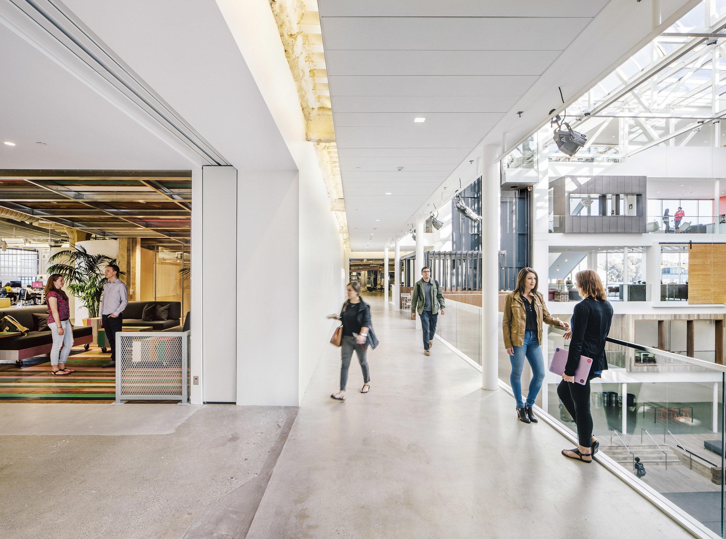 Airbnb Headquarters Corridor