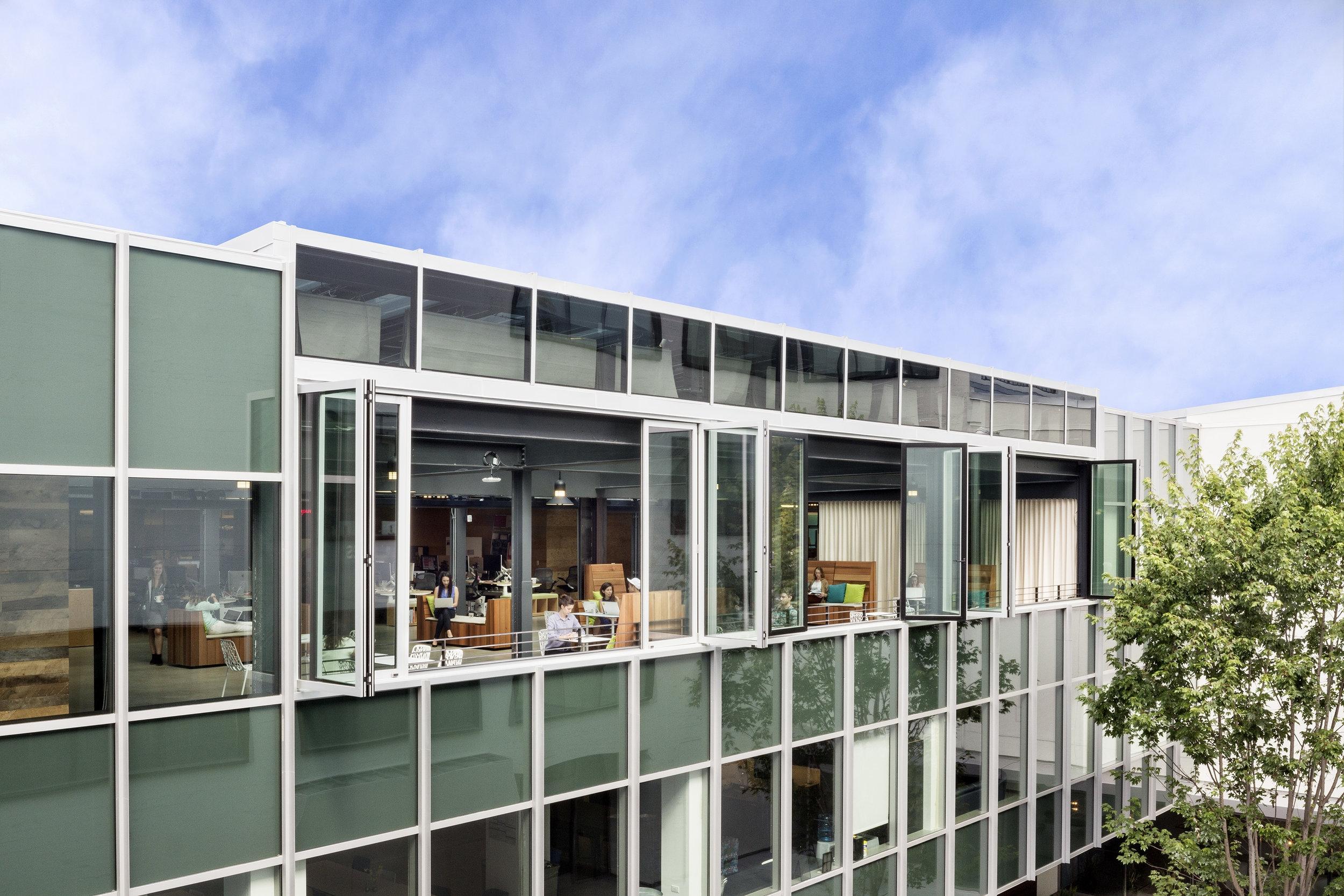 Airbnb Headquarters Atrium Exterior
