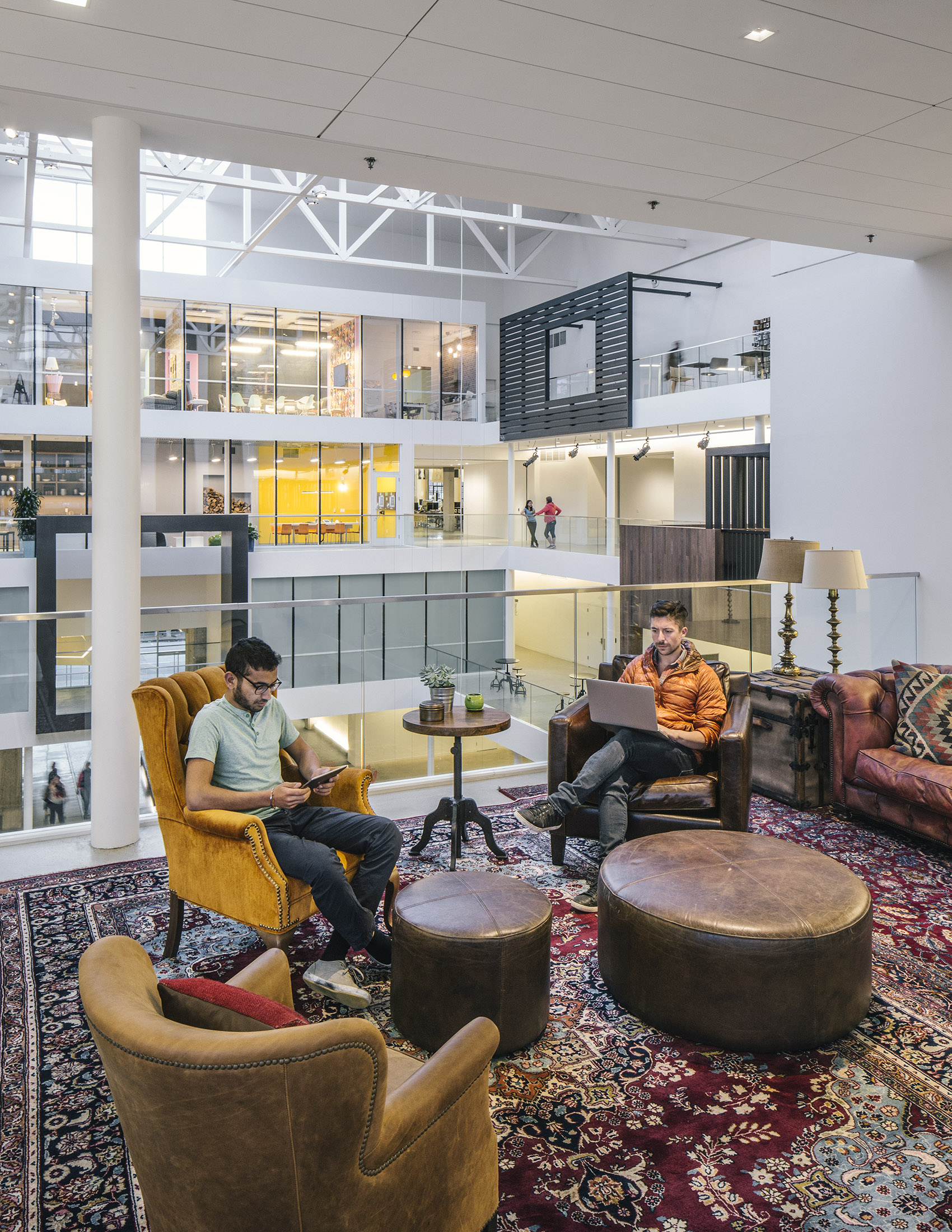 Airbnb Headquarters Workstations