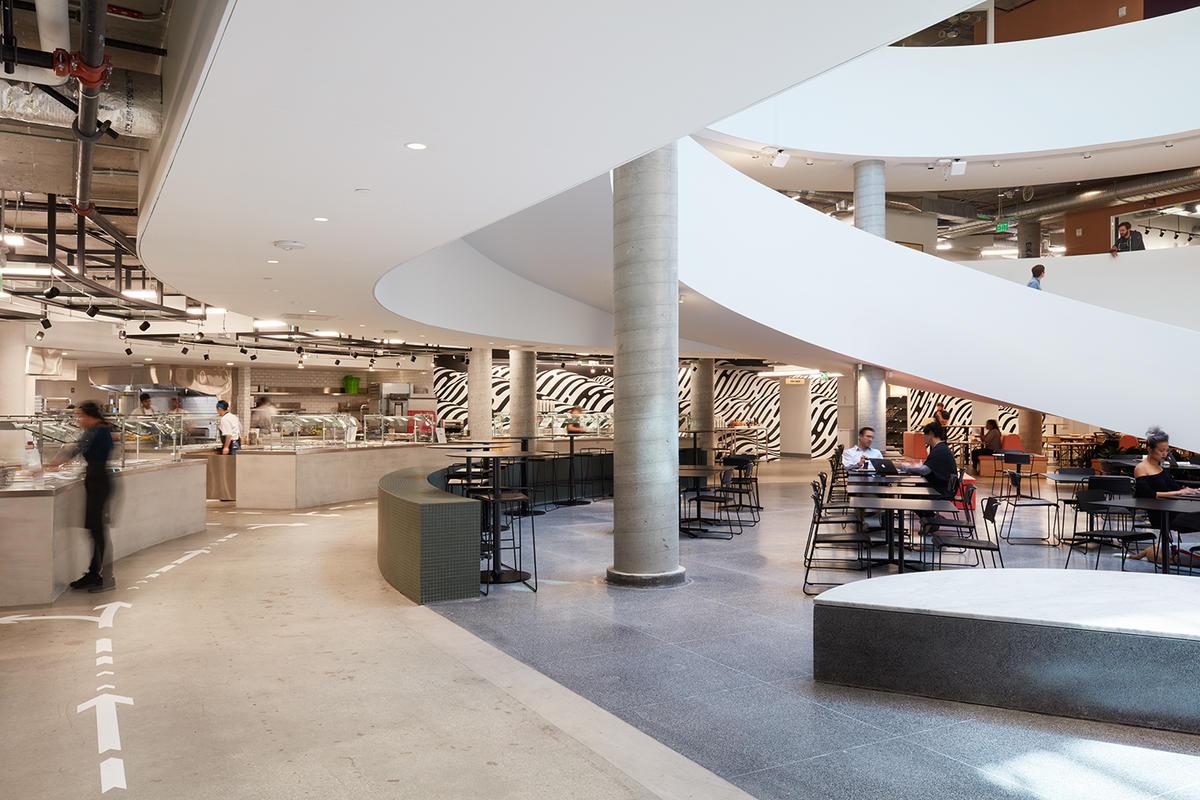 Airbnb Headquarters 2 Atrium