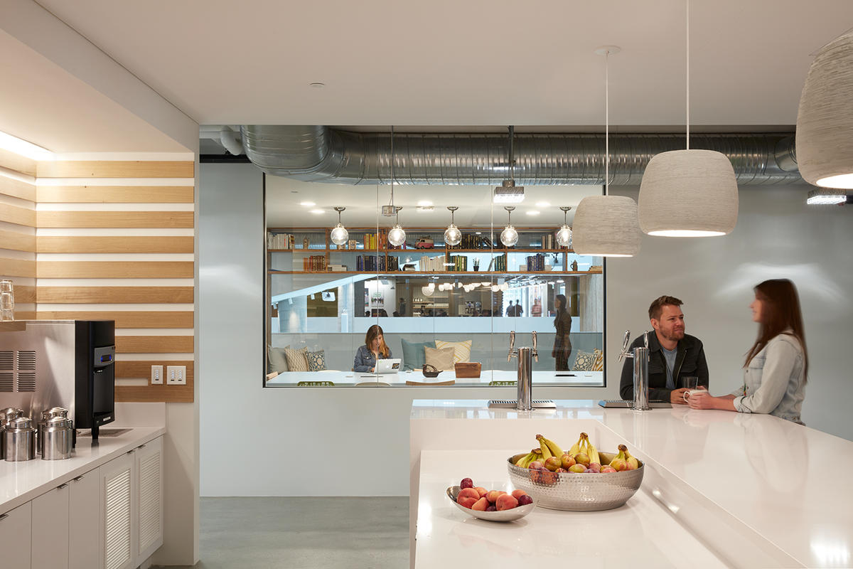 Airbnb Headquarters 2 Cafe