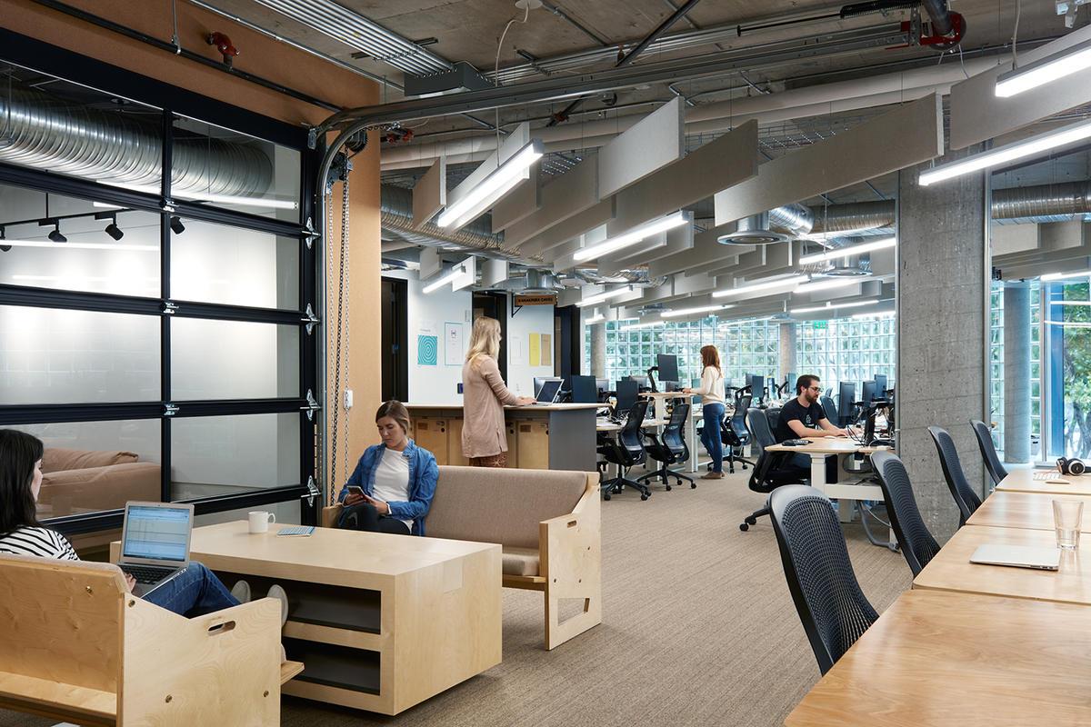 Airbnb Headquarters 2 Collaboration Area