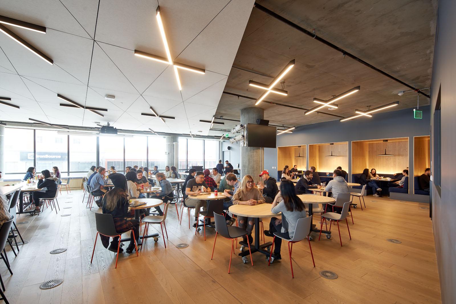 Pinterest Headquarters 2 Cafeteria