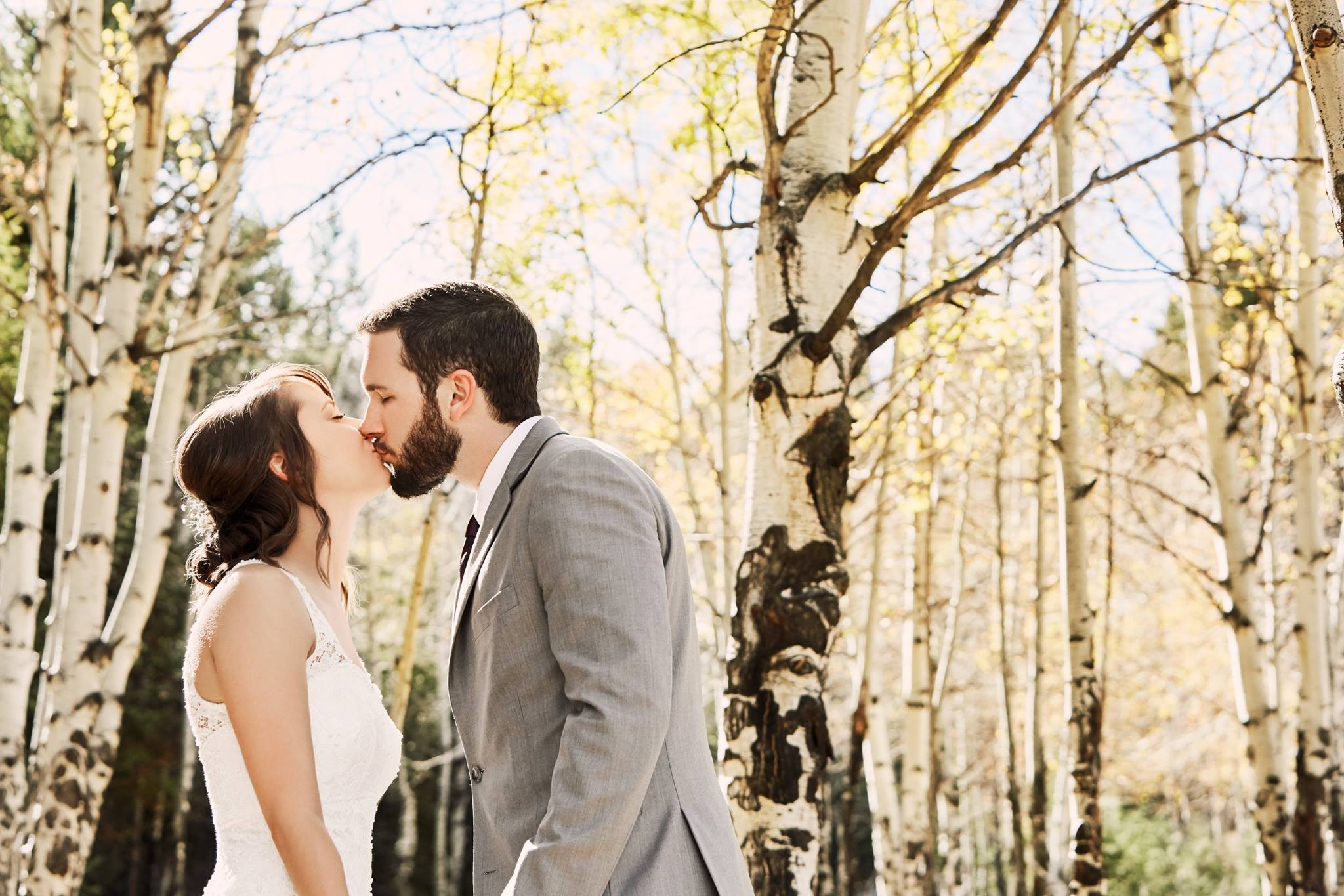 Mike + Bailey's Meadow Creek Mountain Lodge Wedding - Meadow Creek Mountain Lodge | Pine, Colorado | Wedding Beer Bong | Aspen Trees | Lawn Games