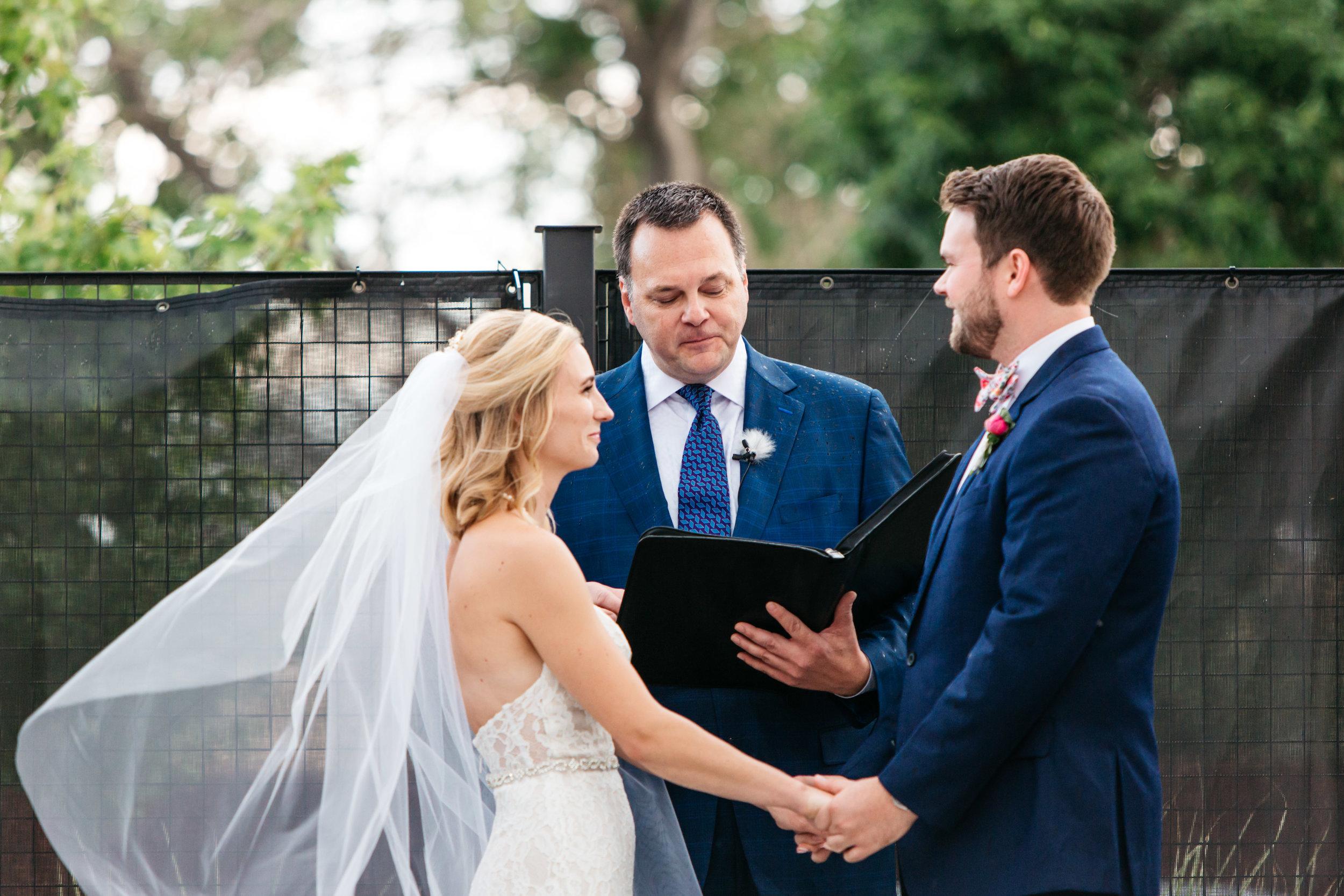 denver outdoor wedding ceremony