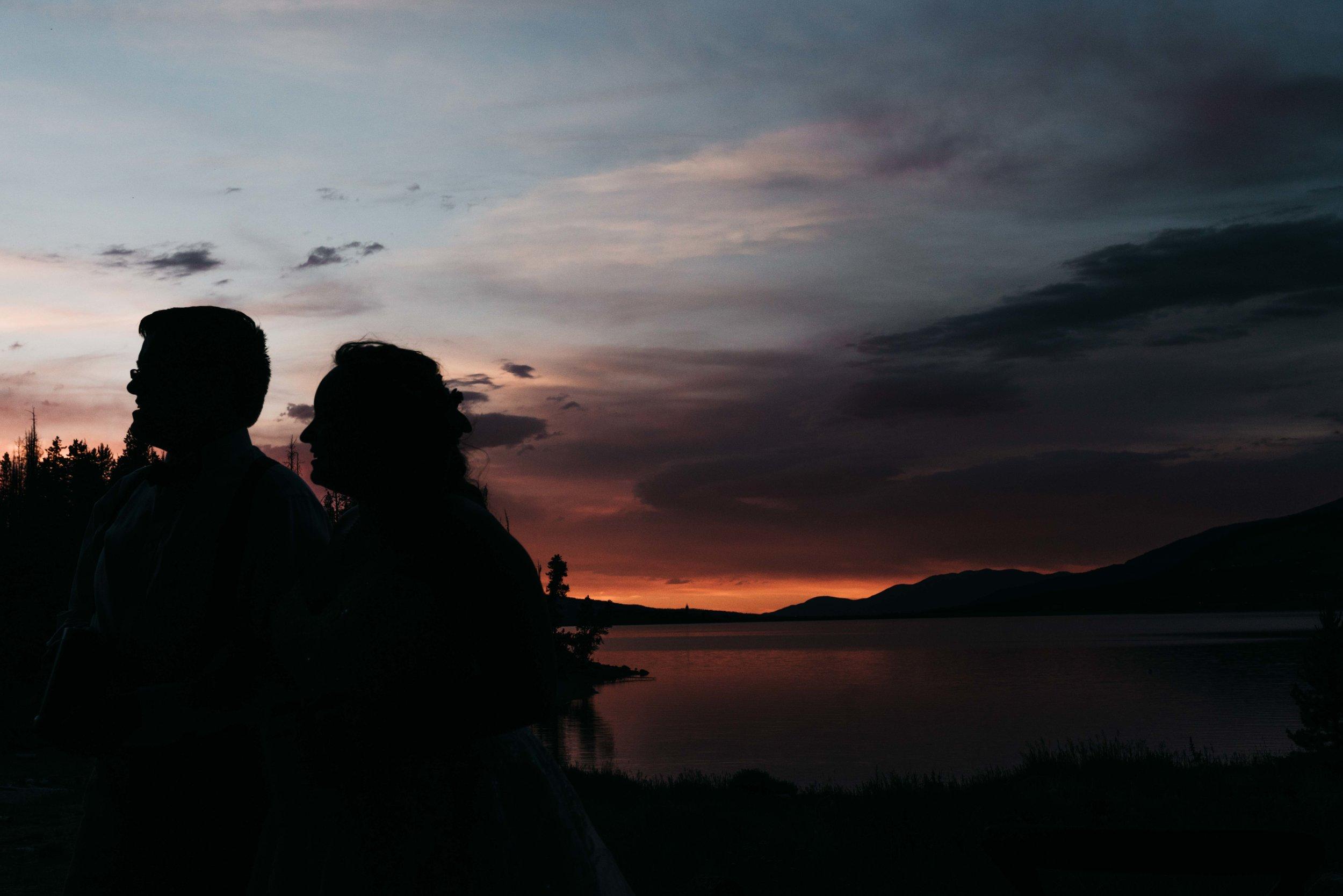 Campground Wedding Lake Dillon