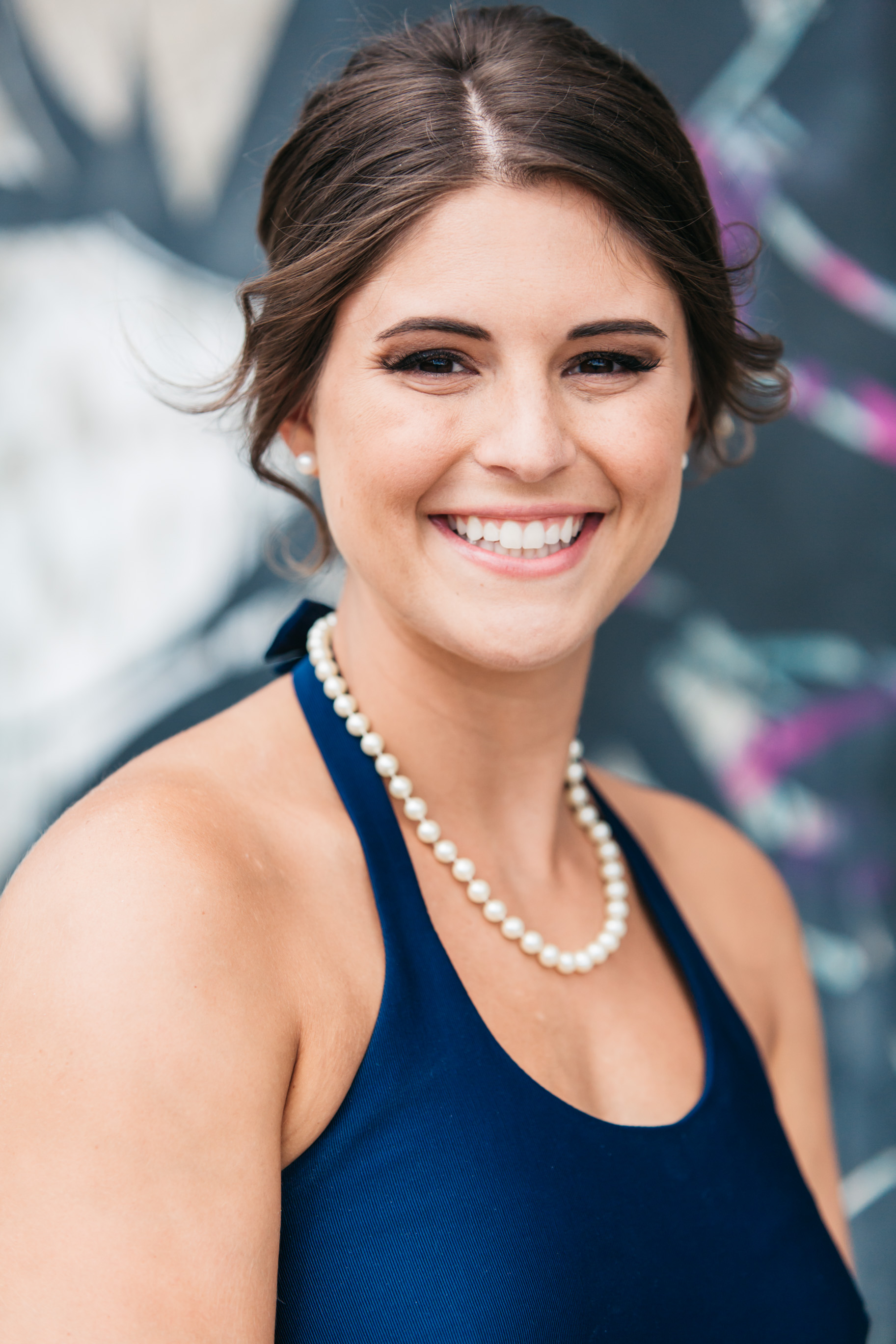 bridesmaid individual photo denver