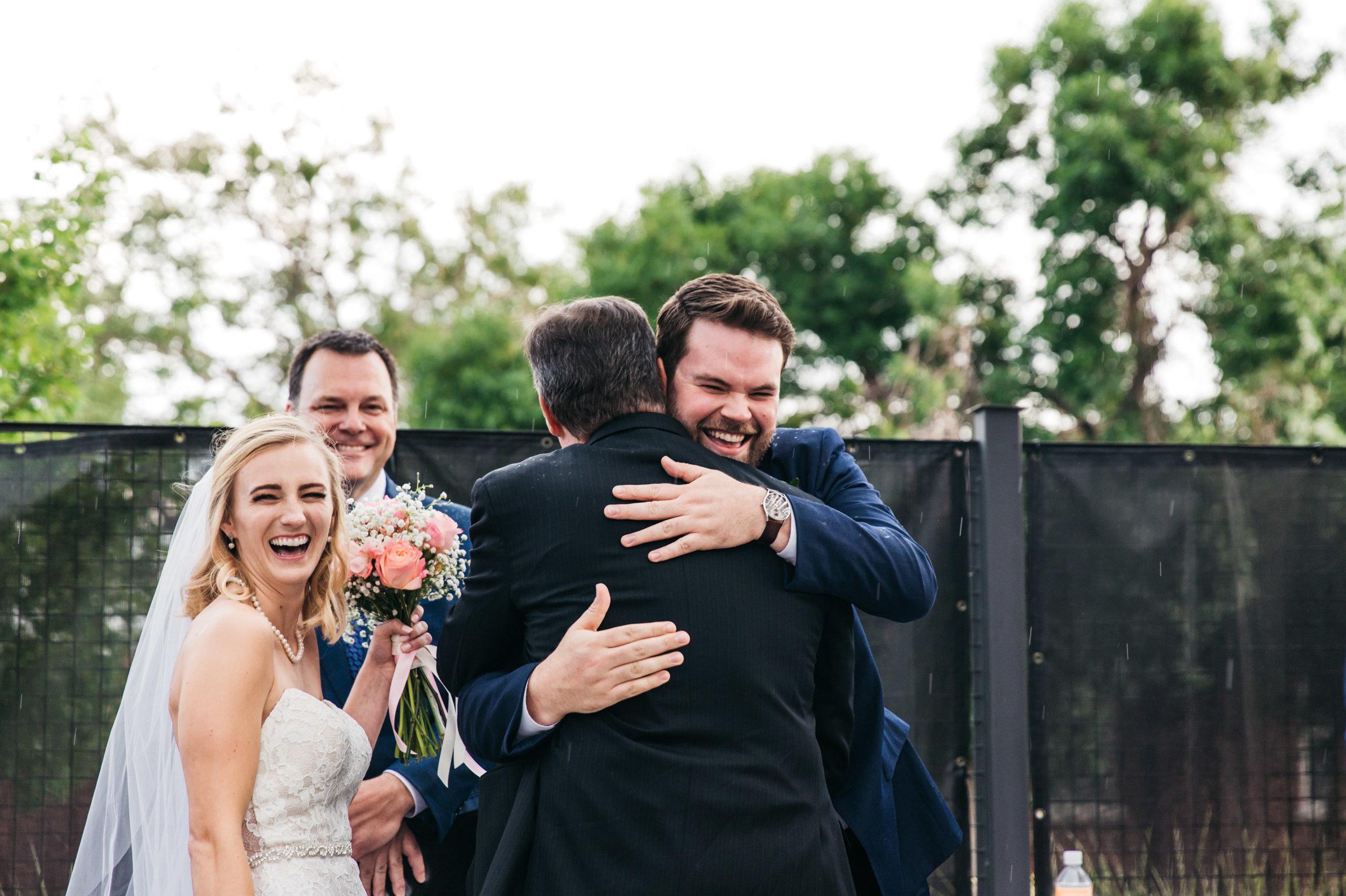 Hugs denver wedding photographer