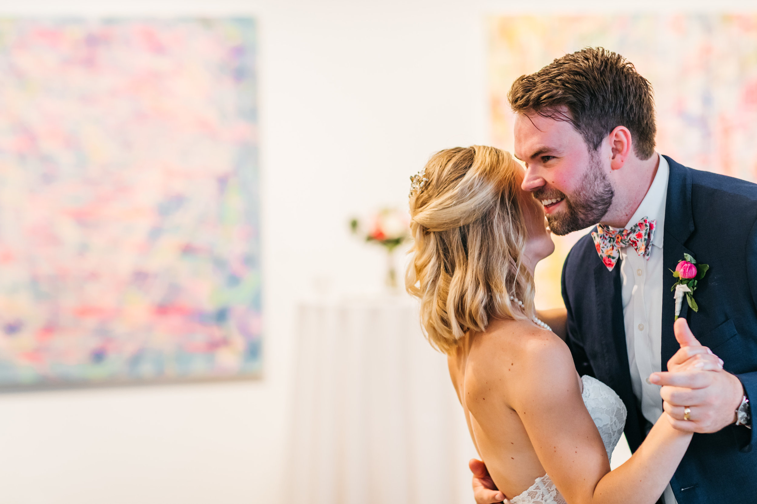 first dance couple art gallery