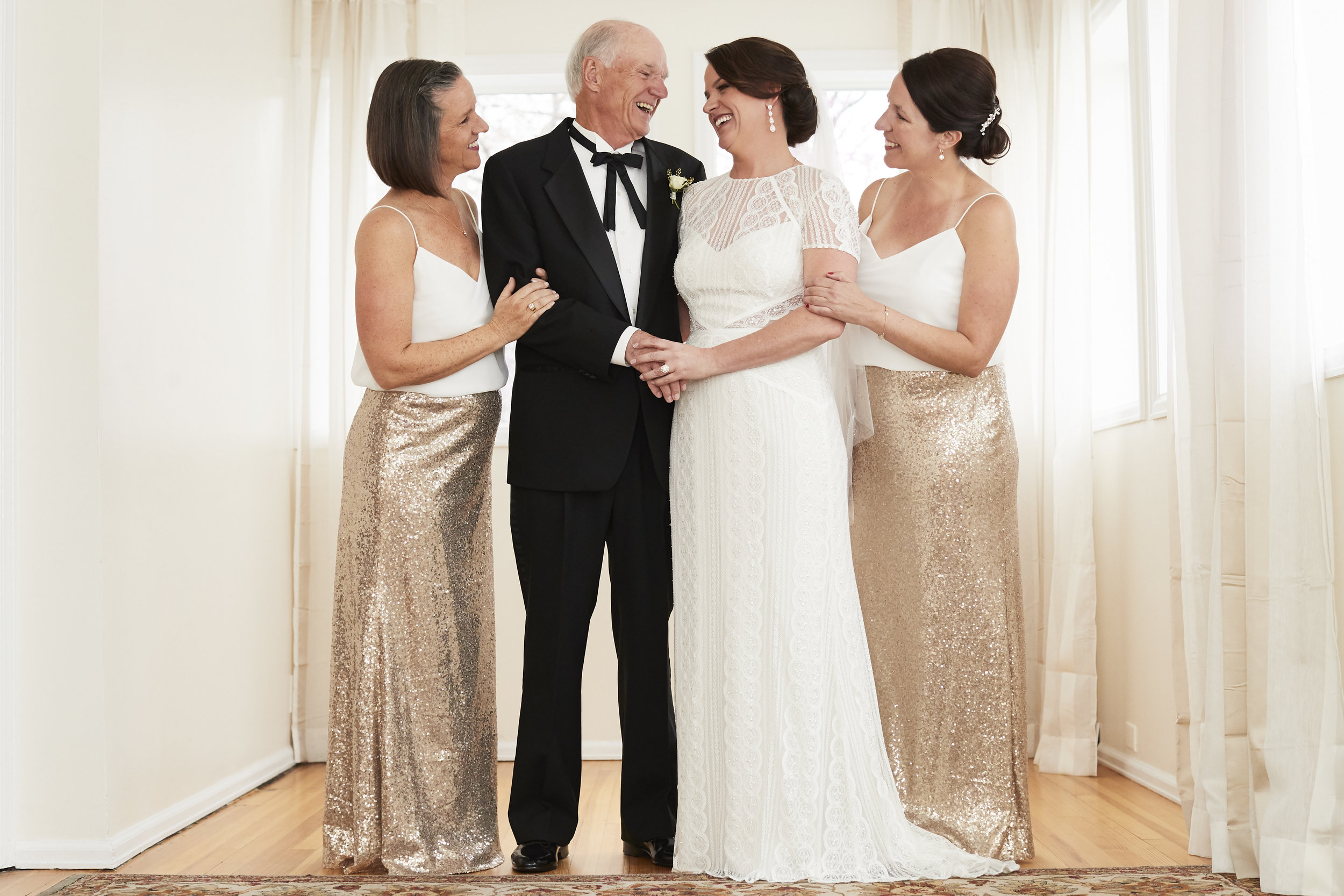 During the Wedding - On your wedding day, our strengths in communication and organization allow you to relax and enjoy your special moments. CliftonMarie will be personable and will encourage natural expressions from you and your family. Stale family photos are not our thing!