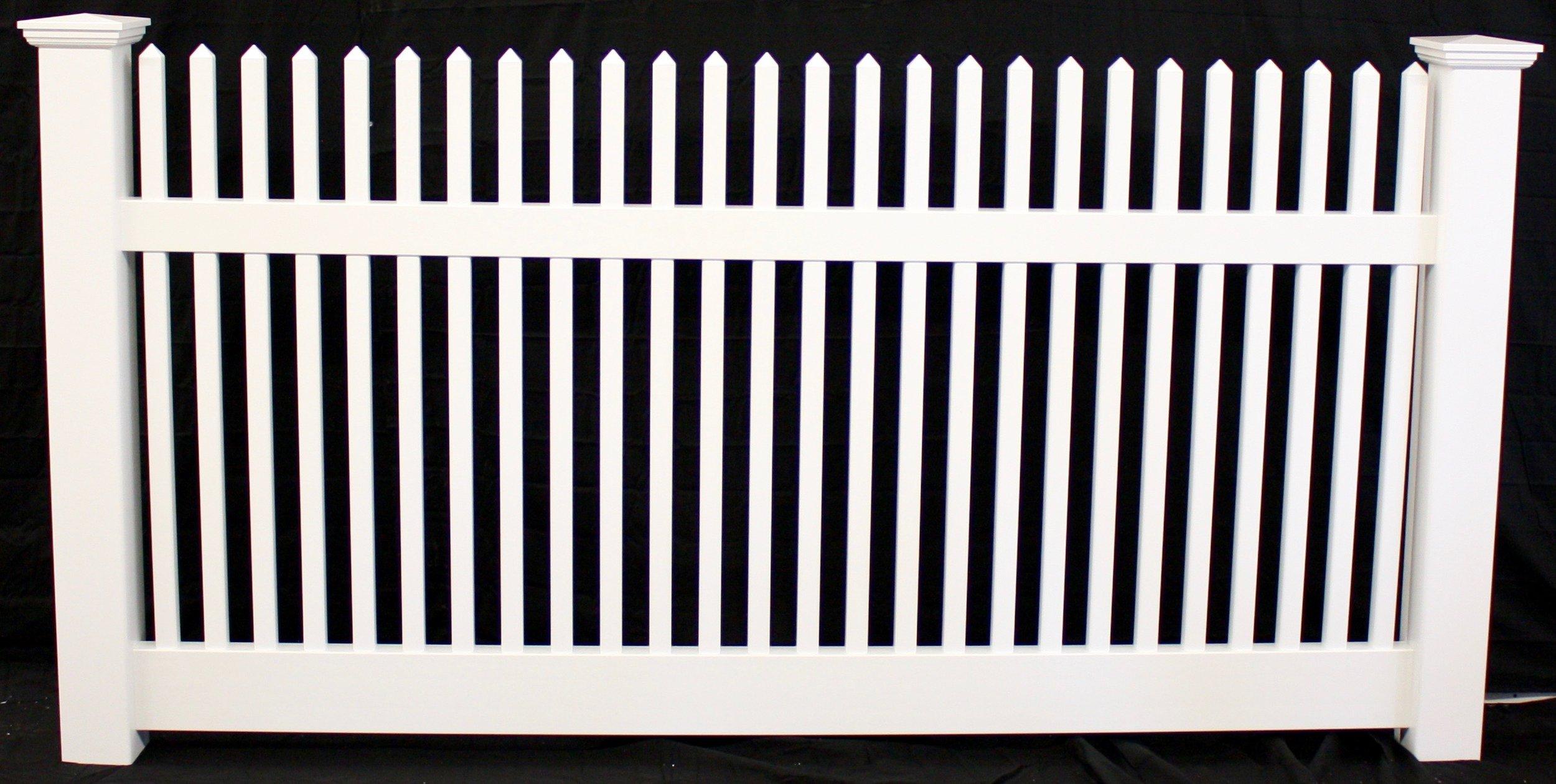 Carlstadt NJ vinyl picket fence