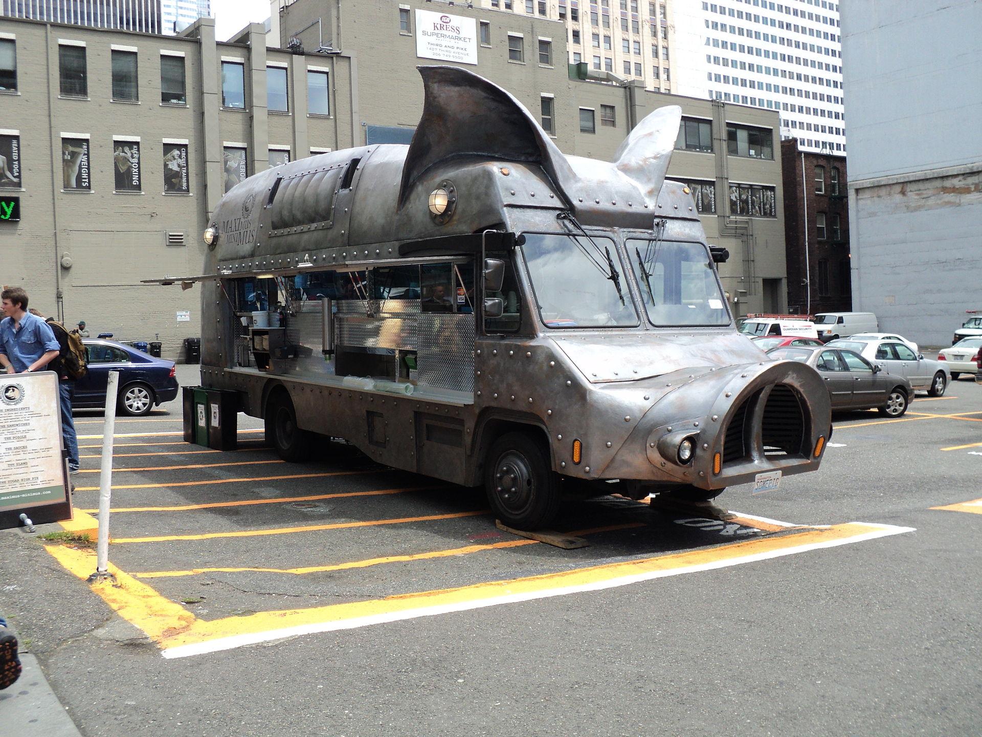 The Maximus/Minimus food truck  - Seattle, Washington, 2010