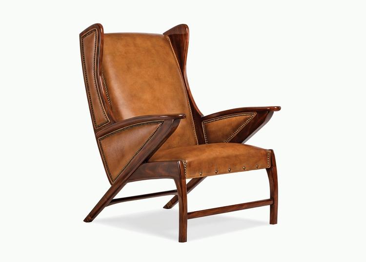 Boomerang Chair   by designer Alan Price