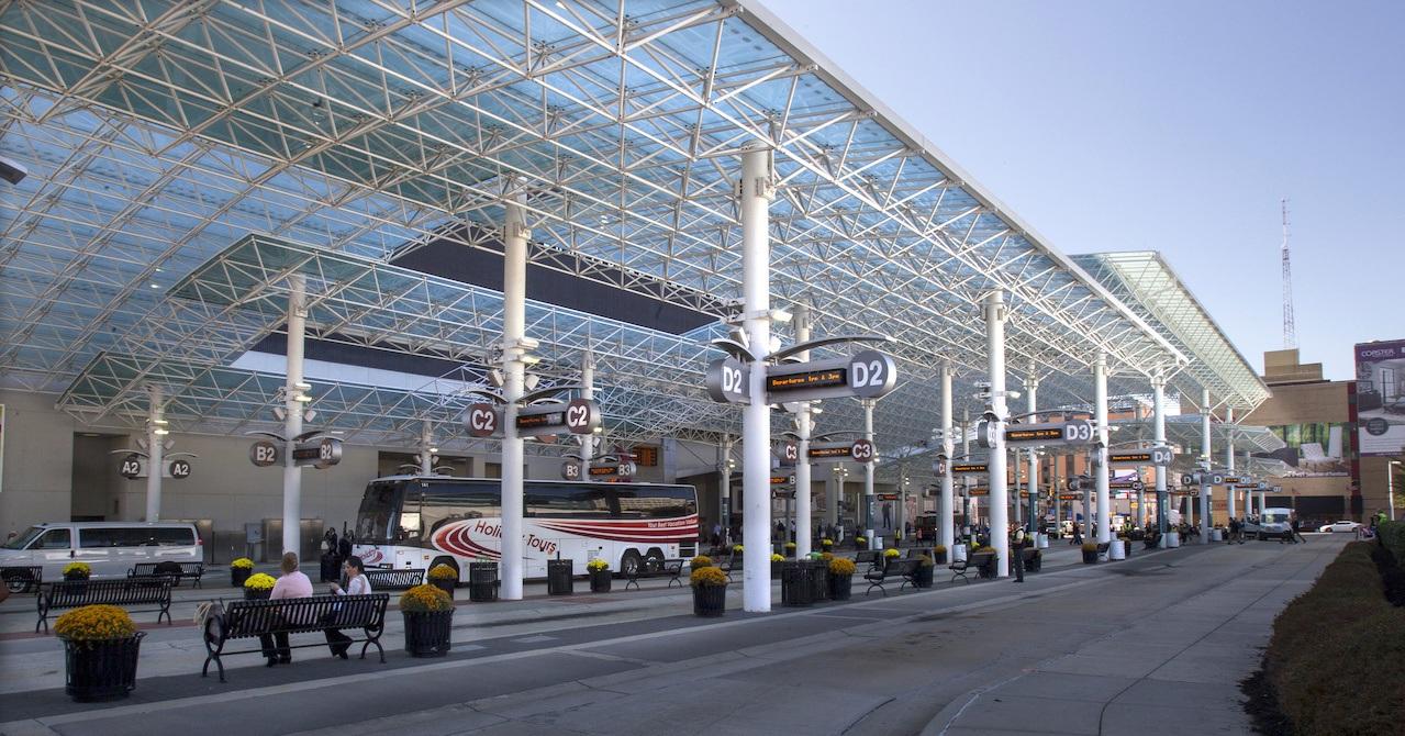 High Point Market Bus Terminal