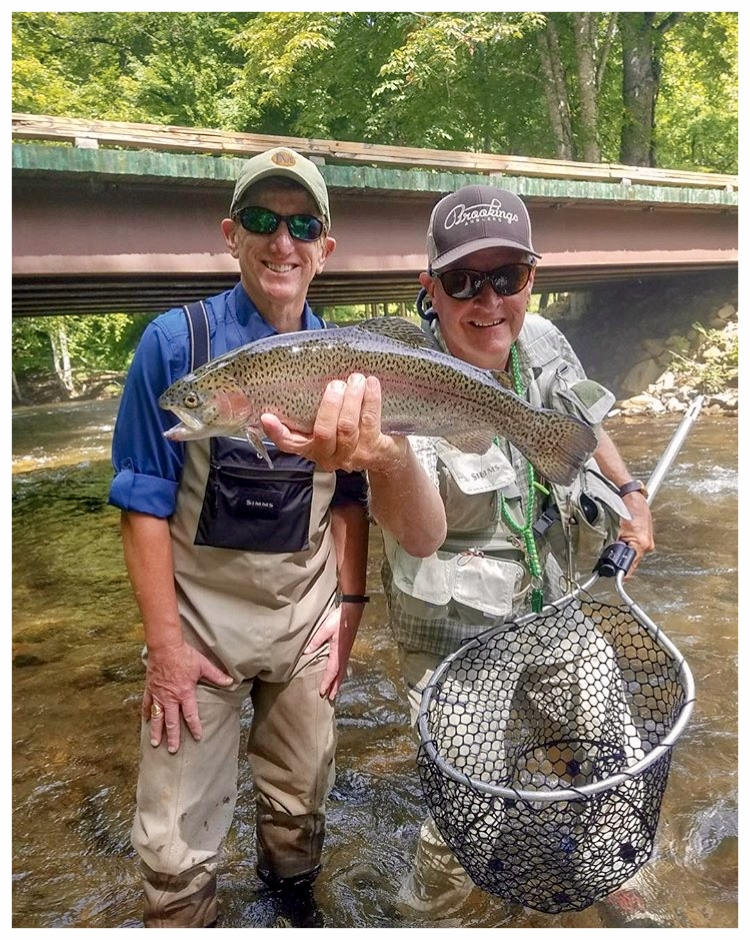 Brookings Anglers (Guide & Client)