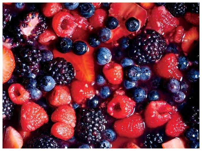 Macerated Berries