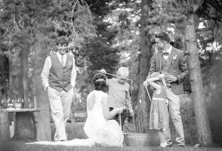 Norfolk Wedding garden games
