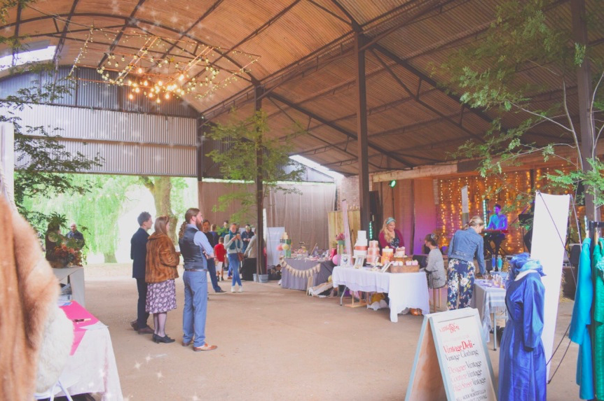 Party Barn at  Happy Valley .  Picture by the FAB -  Flora Fairweather