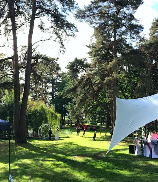 Happy Valley is a Woodland & Open Space Venue for you to create the Wedding You Want.