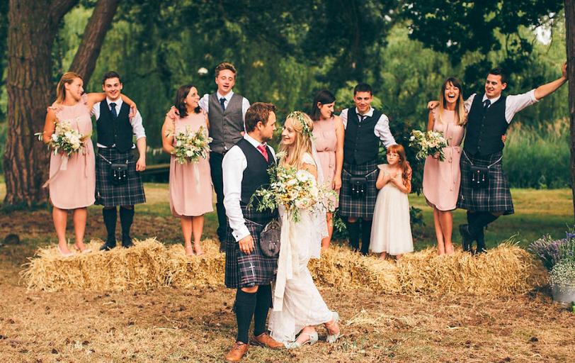 Natural Woodland Wedding Norfolk