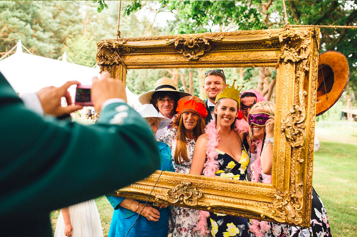 photo booth out door venue norfolk