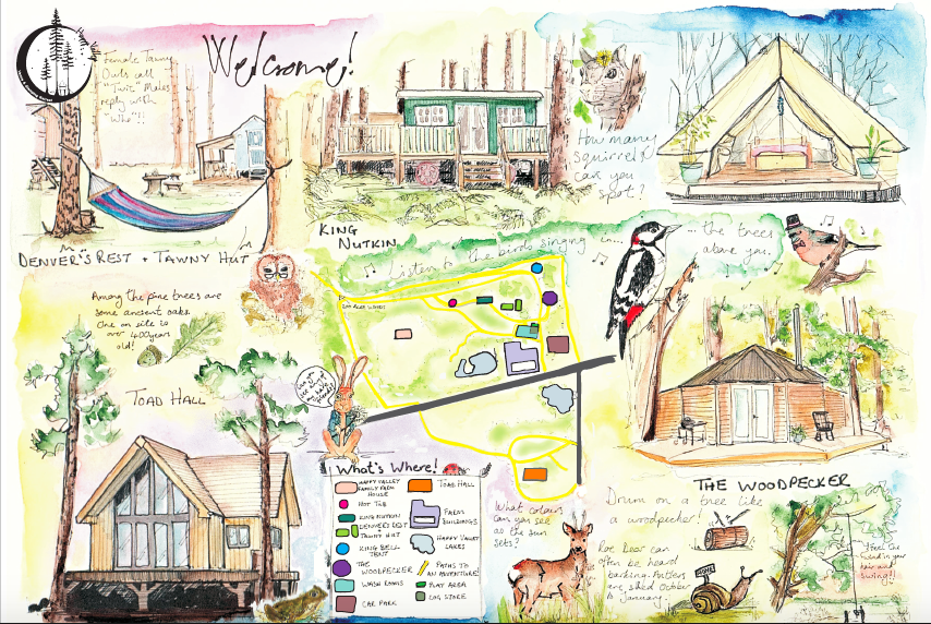 Glamping Cabins in Norfolk
