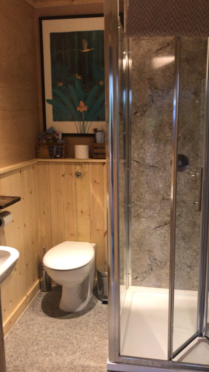 glamping toilets norfolk