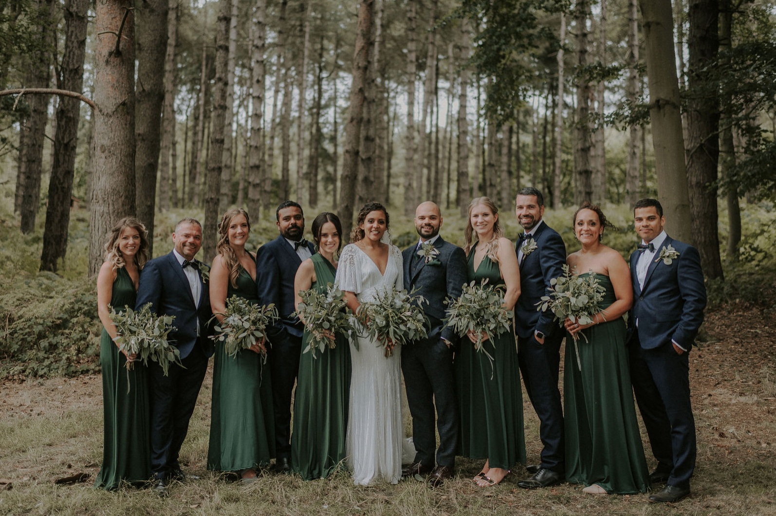 Boho Inspired Wedding, Keeping it Green