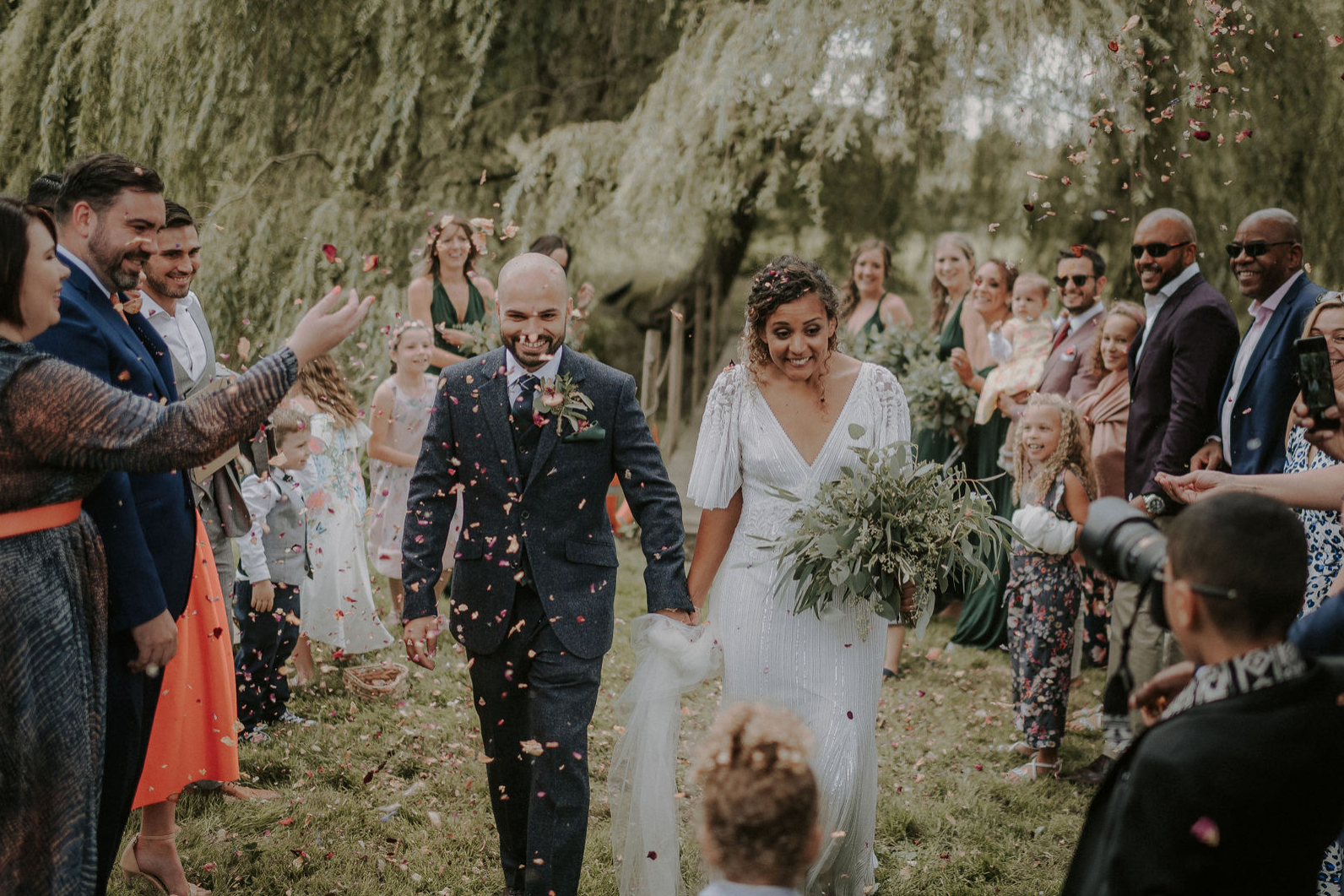 Nikita & Neezam's Wilderness Wedding at Happy Valley, Summer 2019