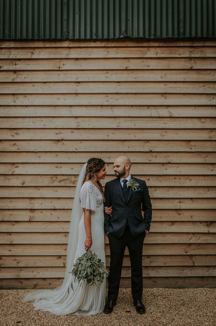 Stunning Capture next to our Dutch Barn by  Alice Cunliffe Photography