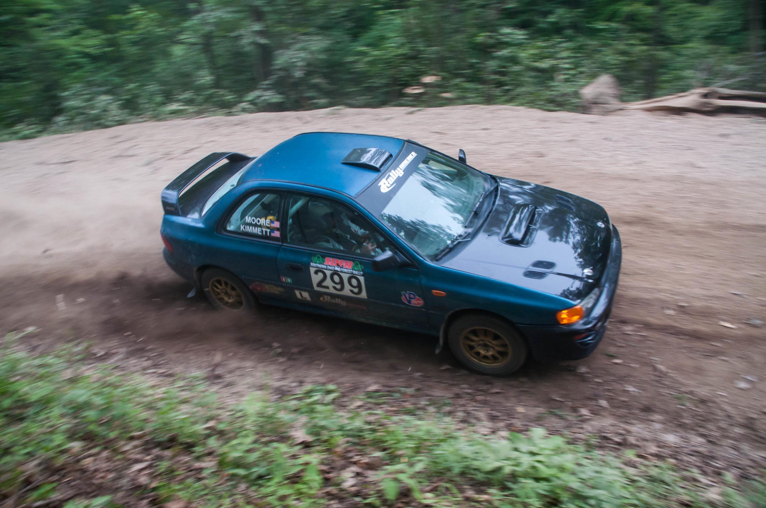 May 19th, 2017 Zaleski Forest Rally - Winners: Kimmett/MoorePhoto Cred: Ben Newburn