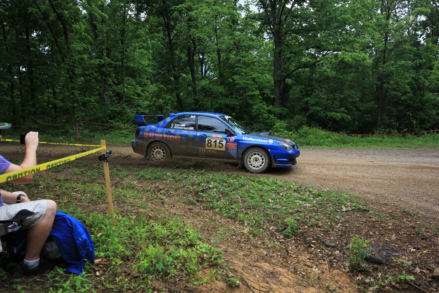 May 19th, 2018 Scioto Trail Forest Rally - Winners: Whitebread/CarrPhoto Cred: Rally America