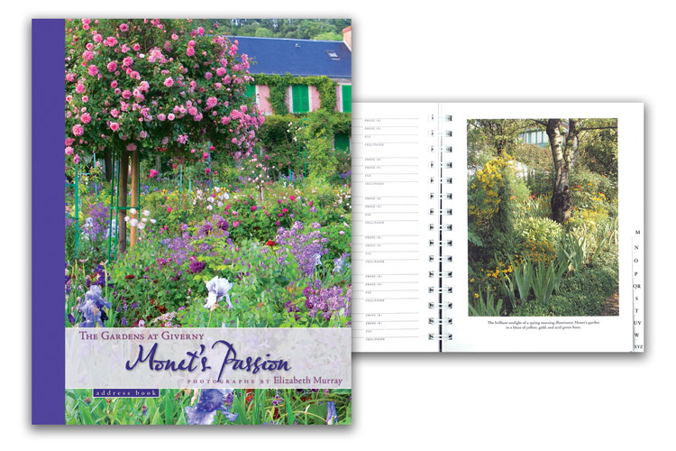 Monet's Passion: The Gardens at Giverny Address Book