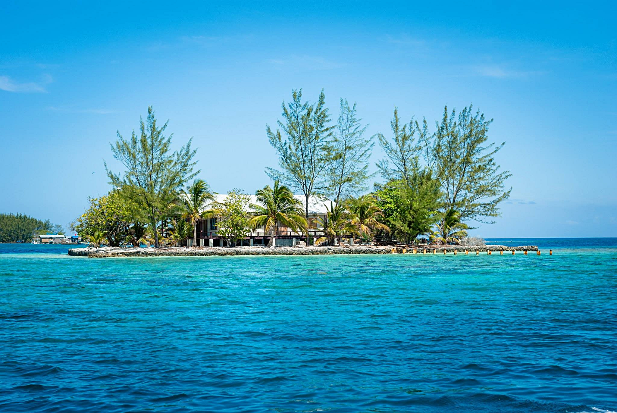 The Utila Cays and surrounding sites boasts some of the most beautiful sea mounds in the region