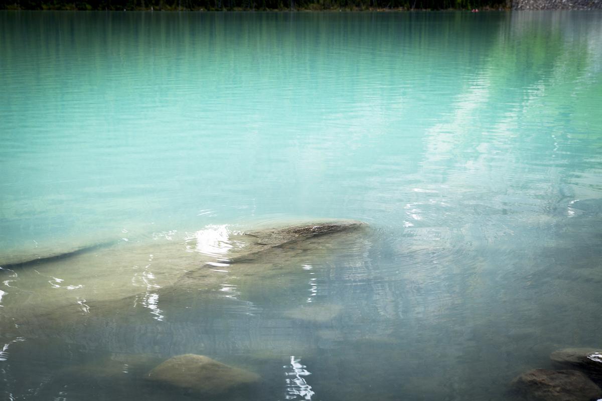 Beautiful Aqua color in Banff