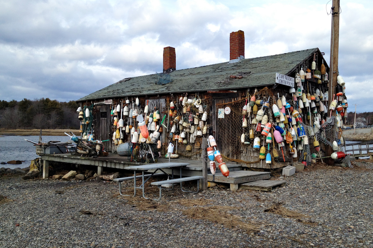 The Boathouse Outside Marnie's Studio in Excelsior