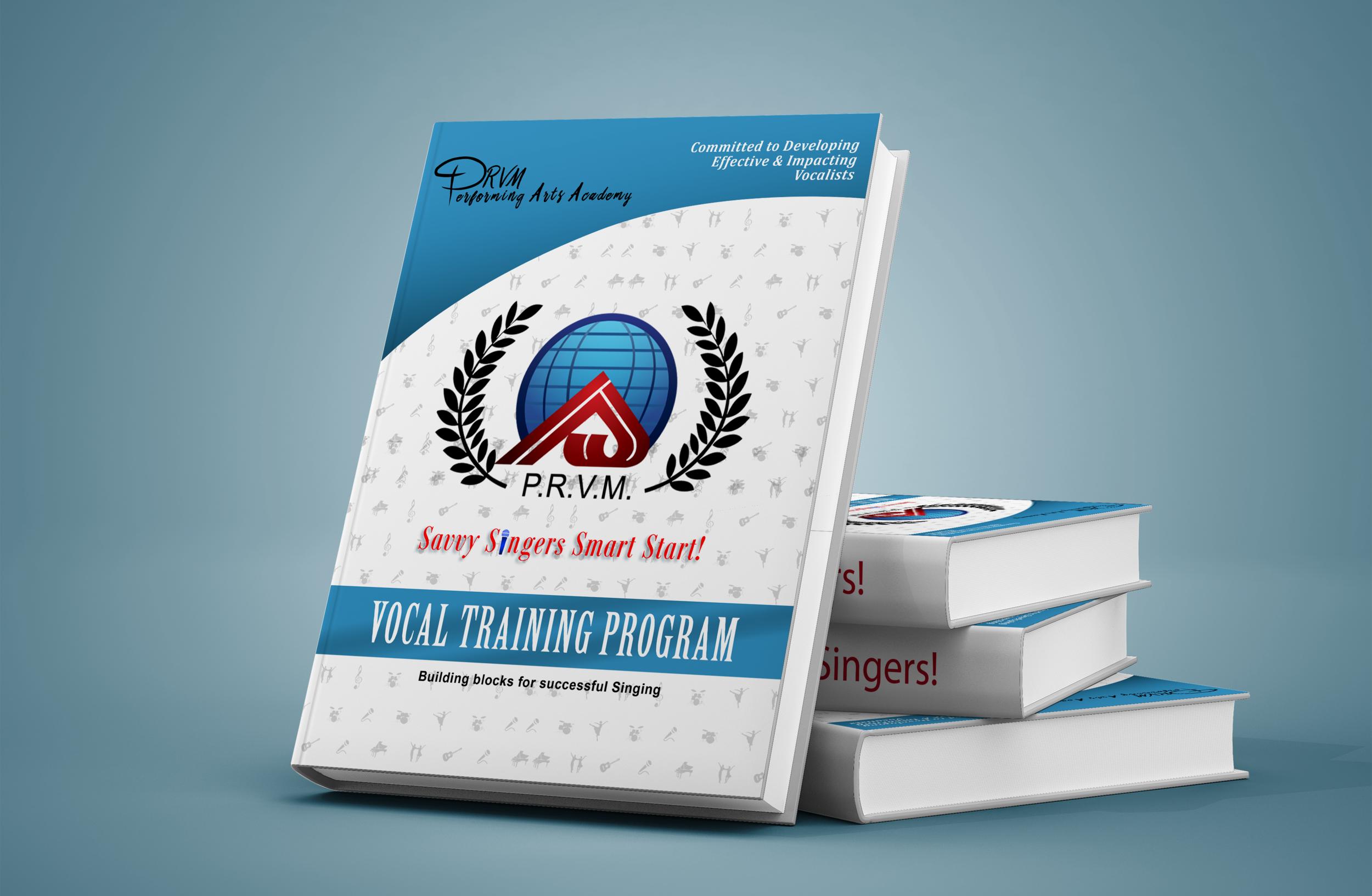 Savvy Singers Smart Start Training Manual-  Hard Copy  $24.50