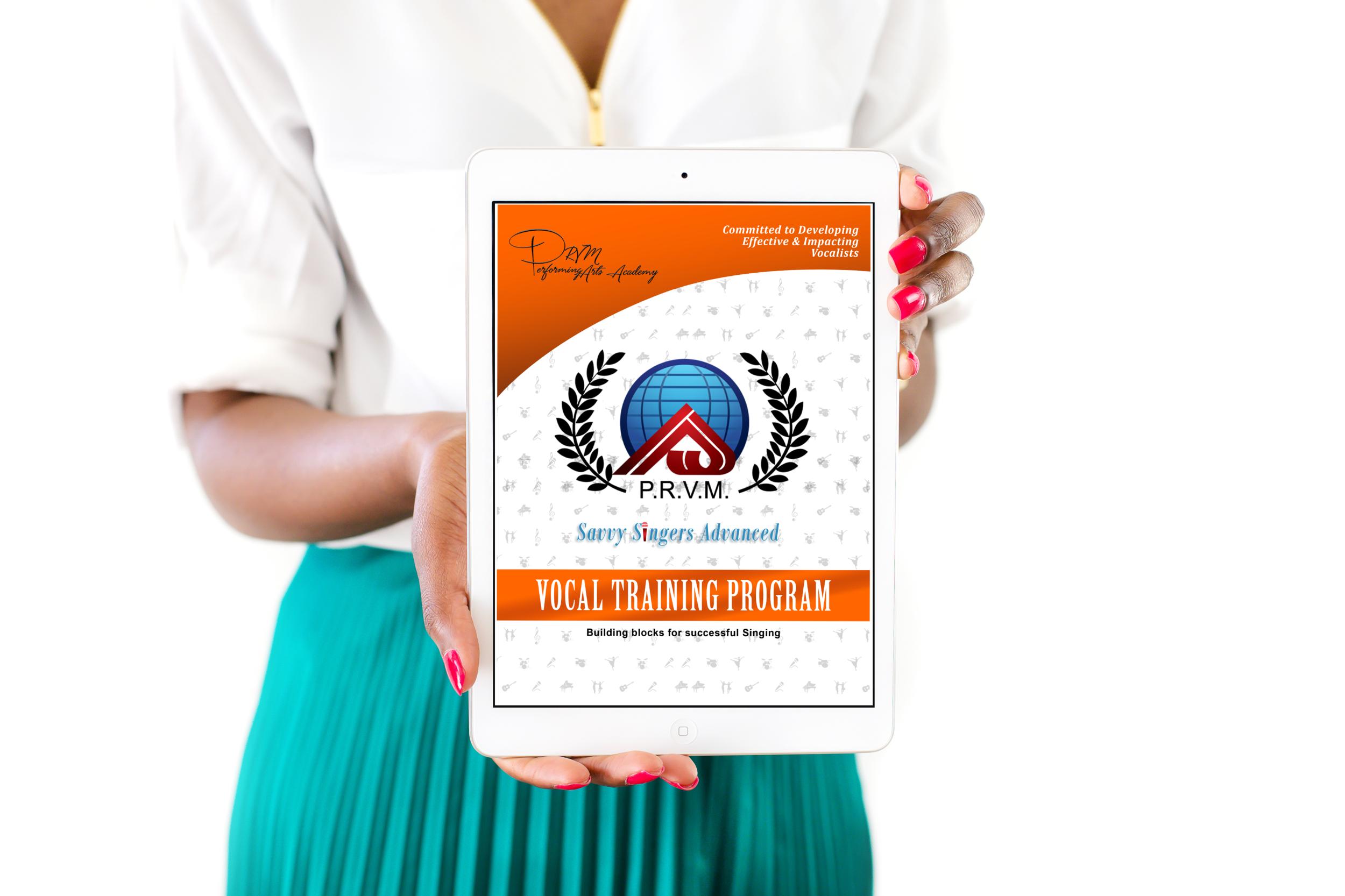 Savvy Singers Advanced Training Manual-  Digital    $36.86