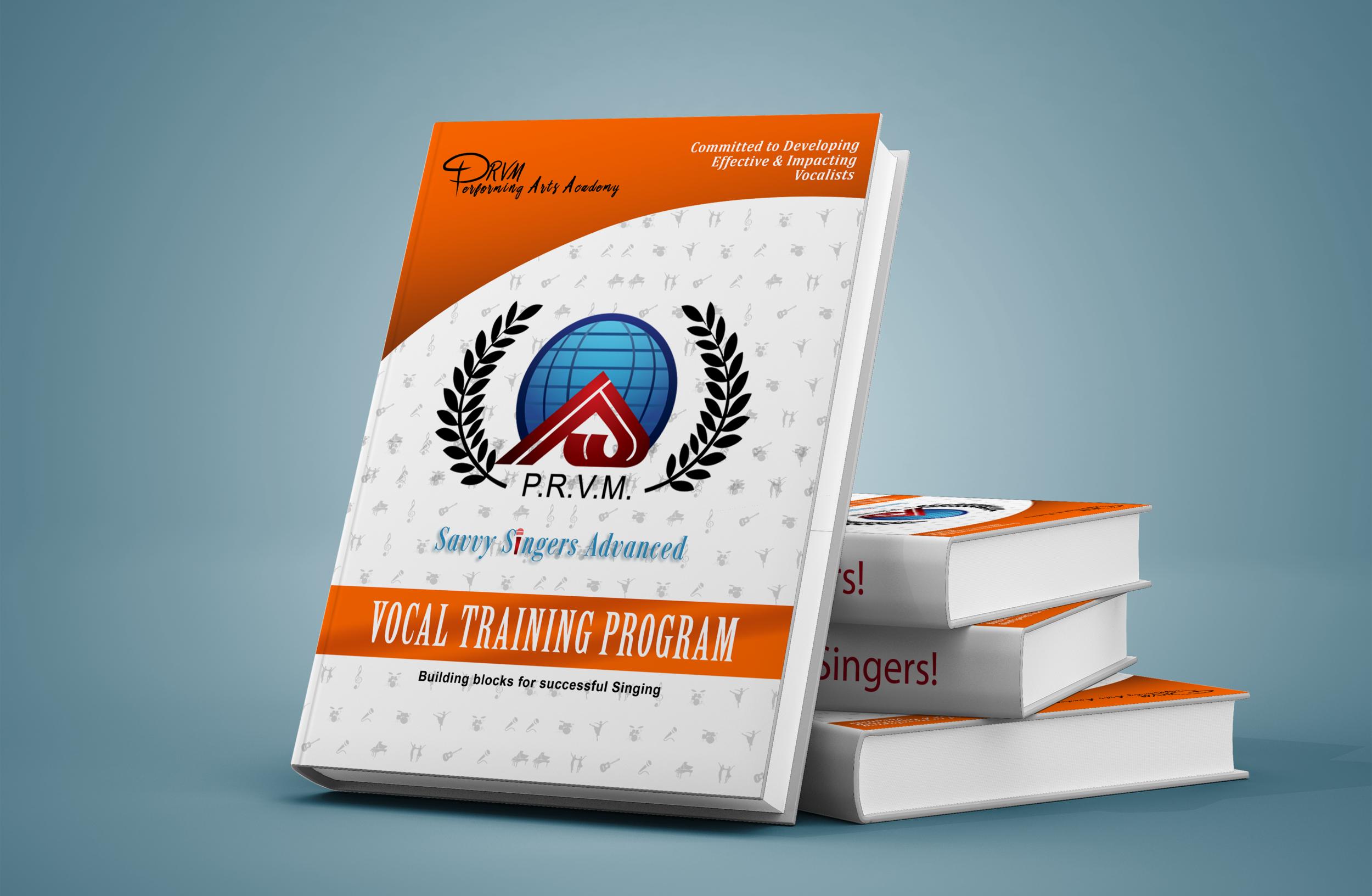 Savvy Singers Advanced Training Manual-  Hard Copy    $39.27