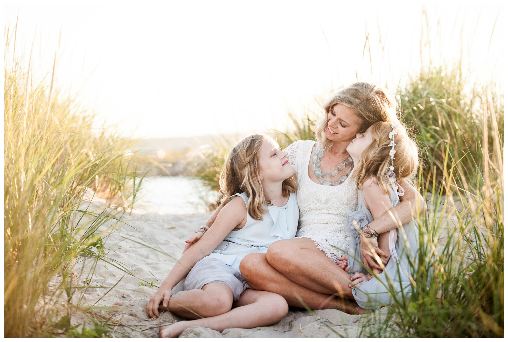This is one of my favorite photos from a family session in York Maine with my two daughters. I adore photos of Mom with her babies and this one is very special to me.