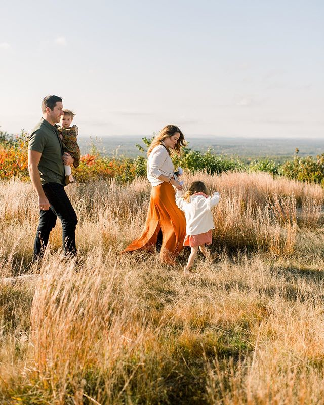 So in love with this fall family session!