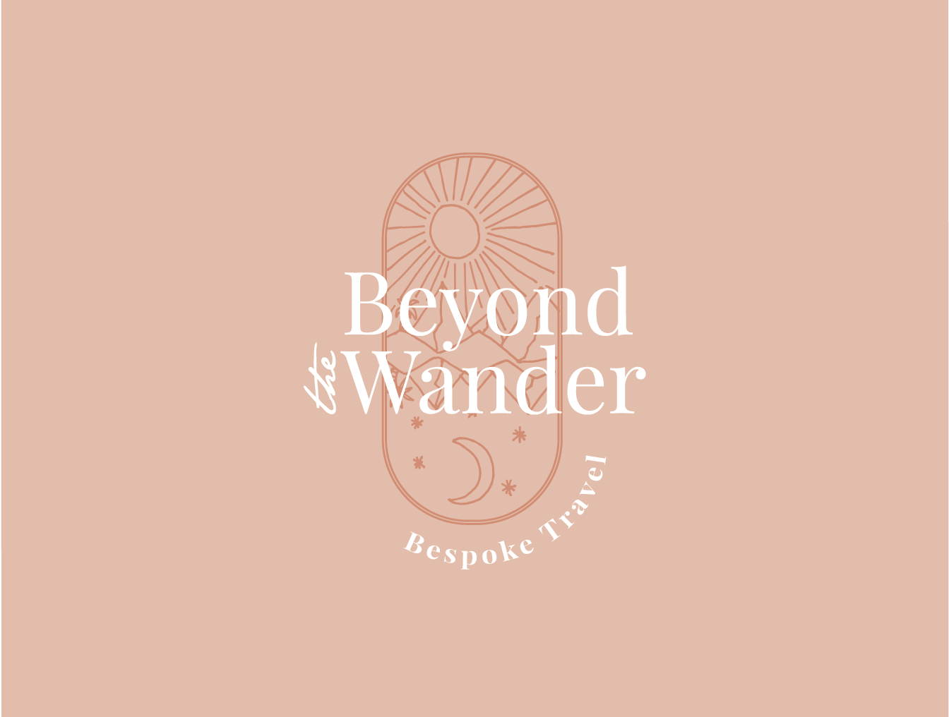 Beyond the Wander - Branding & Website WIP