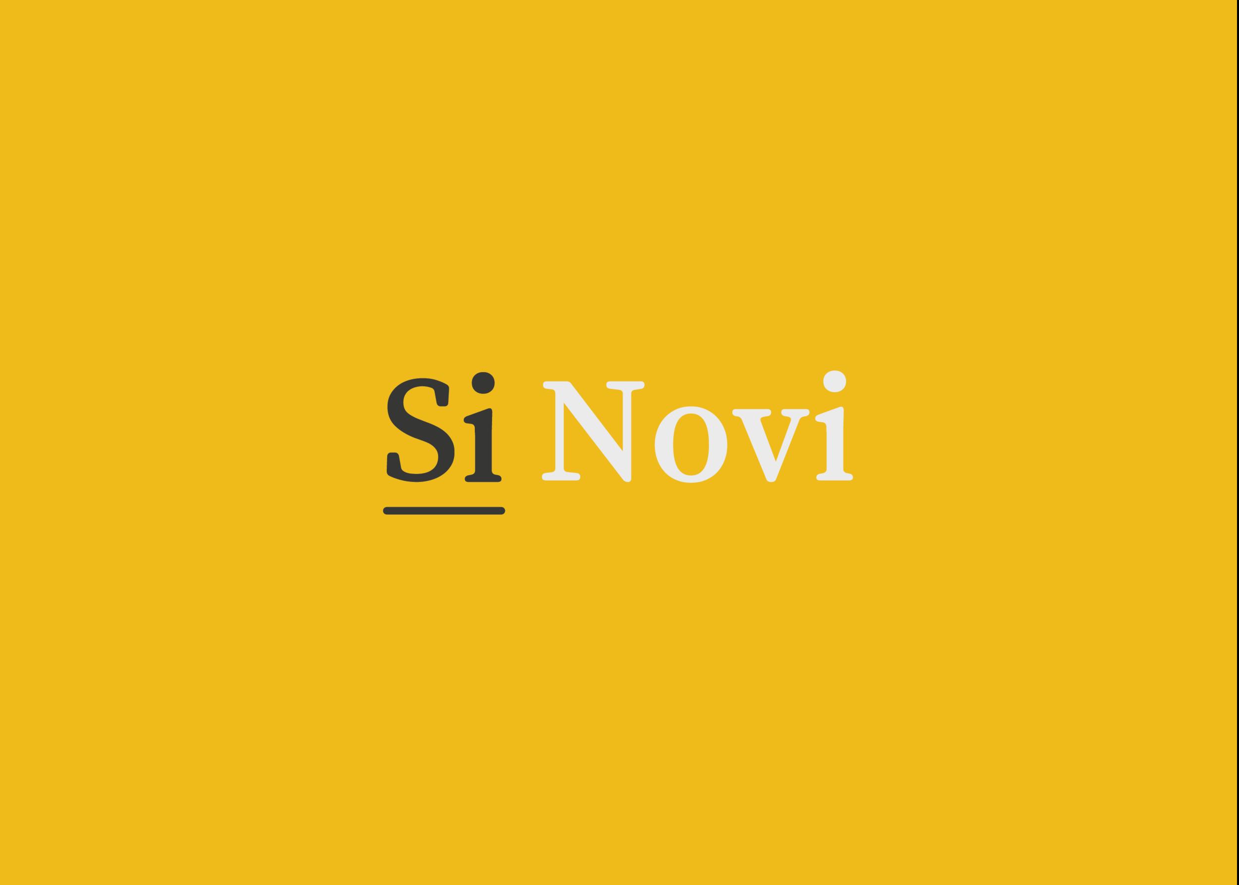 Si Novi - Branding Design