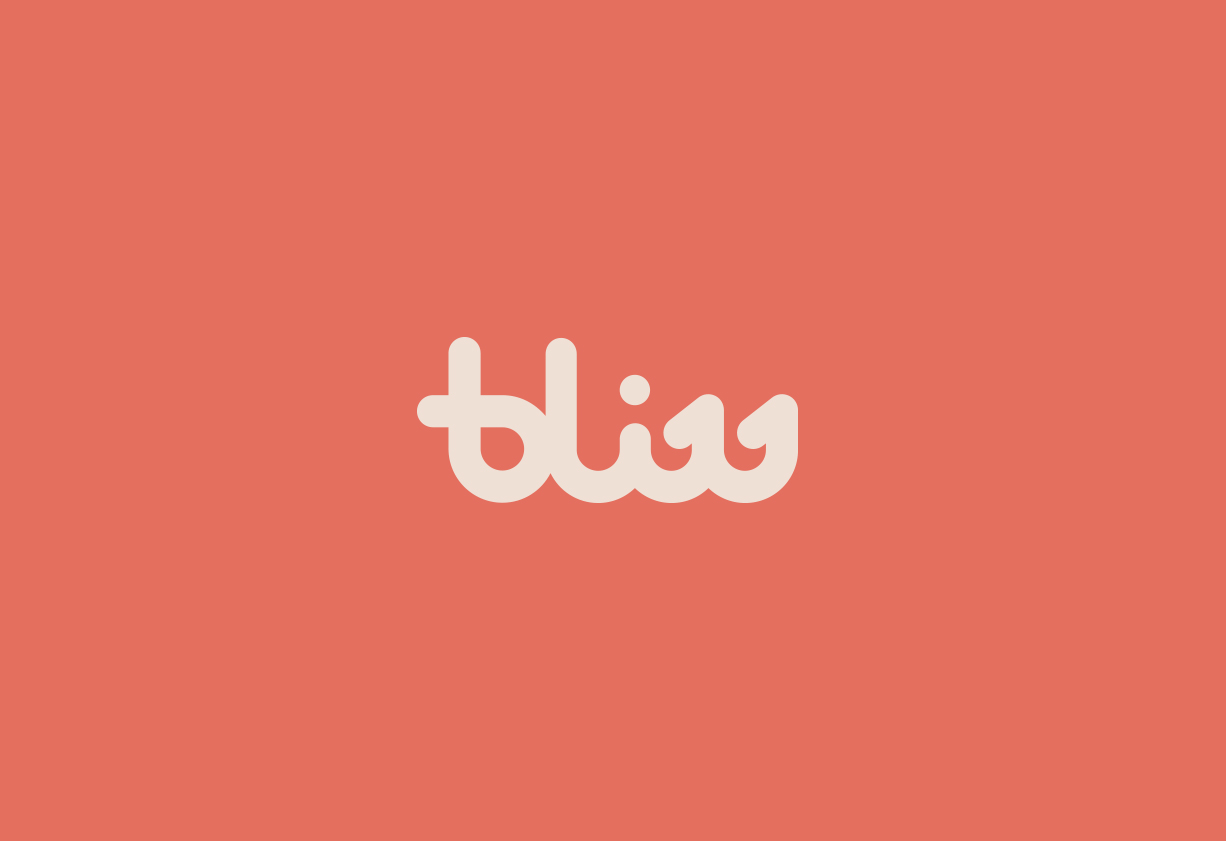 Bliss - Rebrand, icon design & Illustration