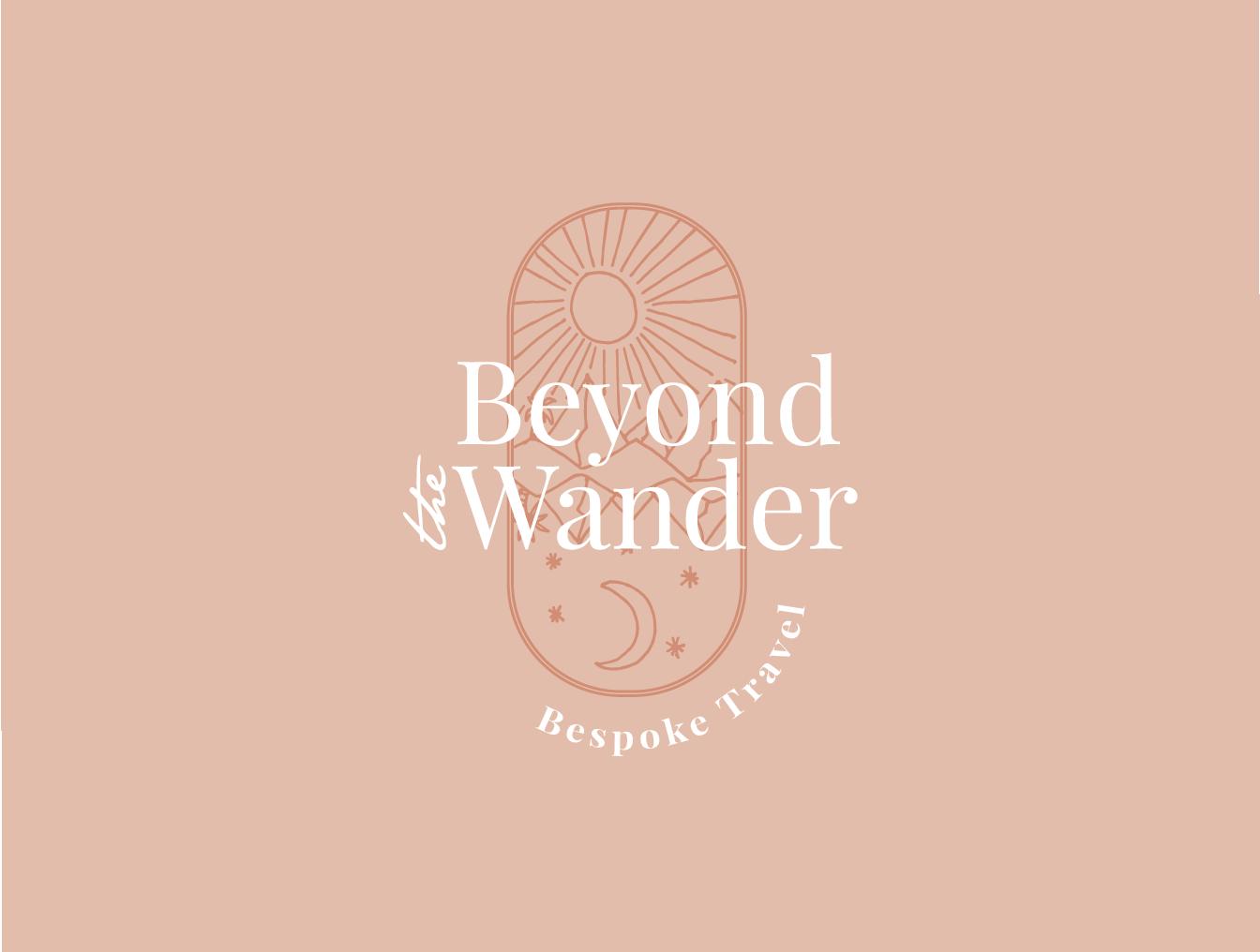 Beyond the wander - Branding & Print Design