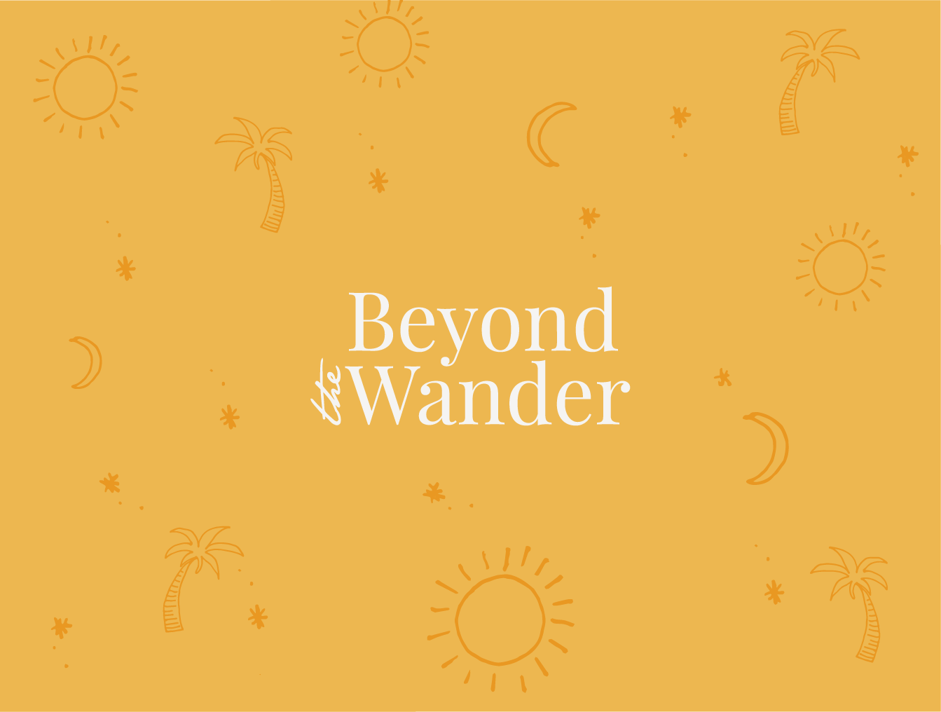 Beyond the Wander - Branding & Website Design