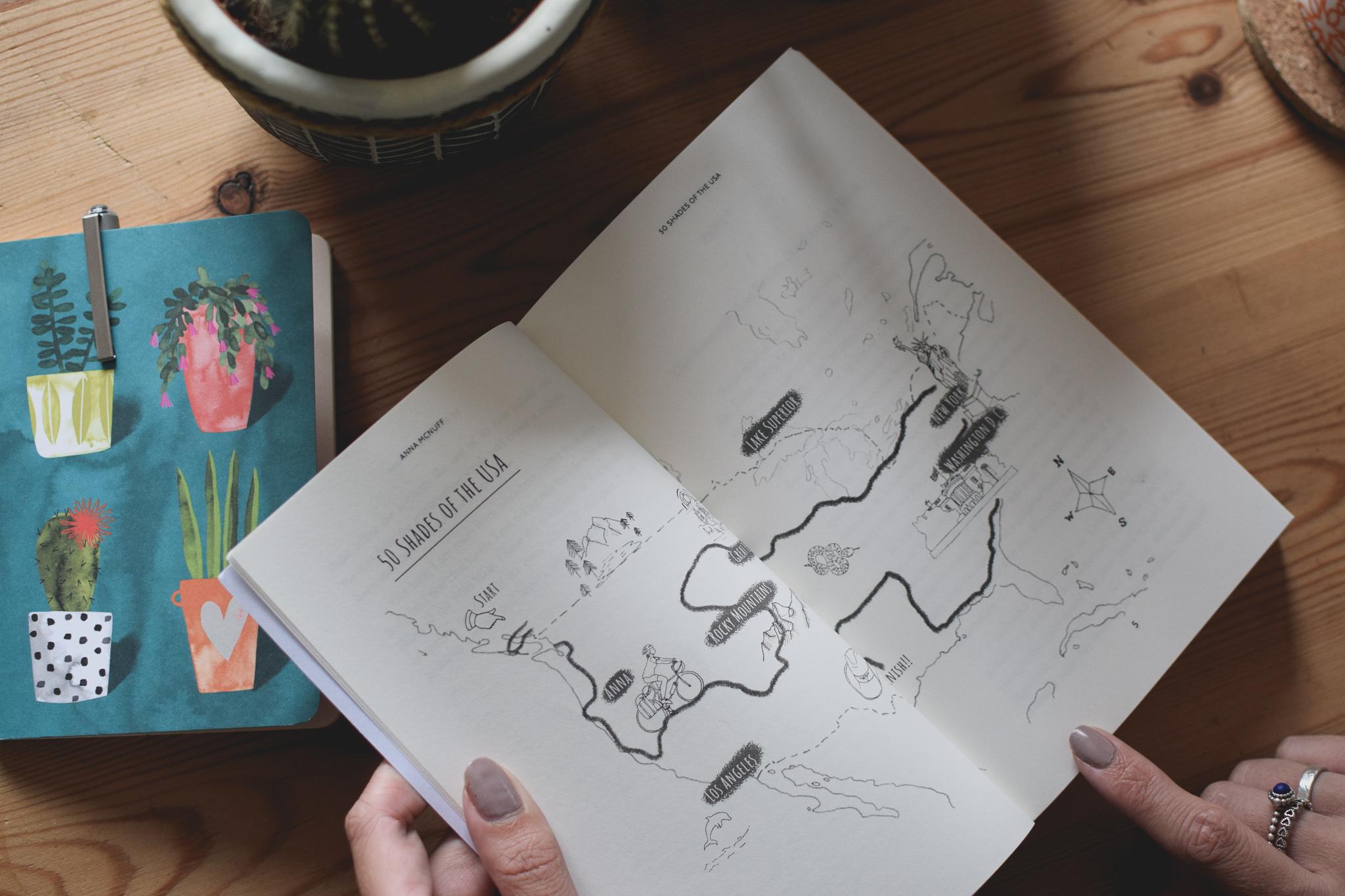 Anna McNuff - Book Design & Illustration