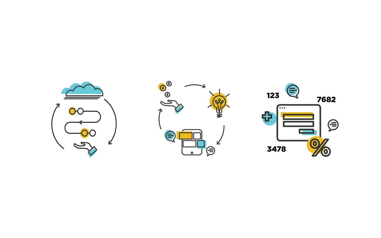 Si Novi - Branding, Website Design & Illustration