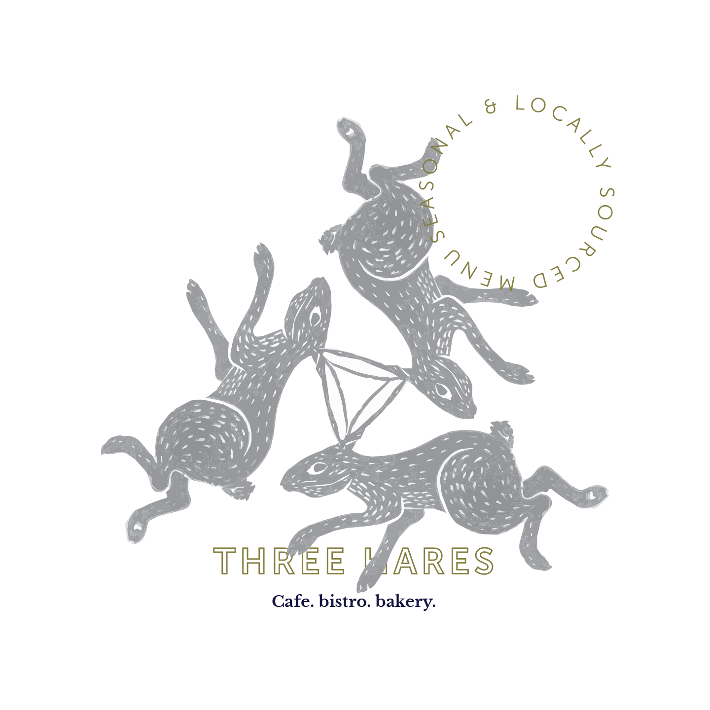 Three Hares - Branding & Illustration