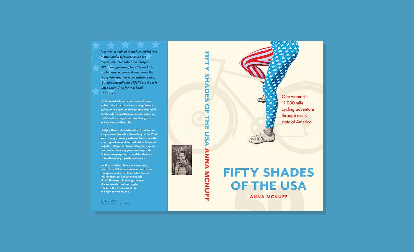 Anna McNuff - Book Design / Editorial Design